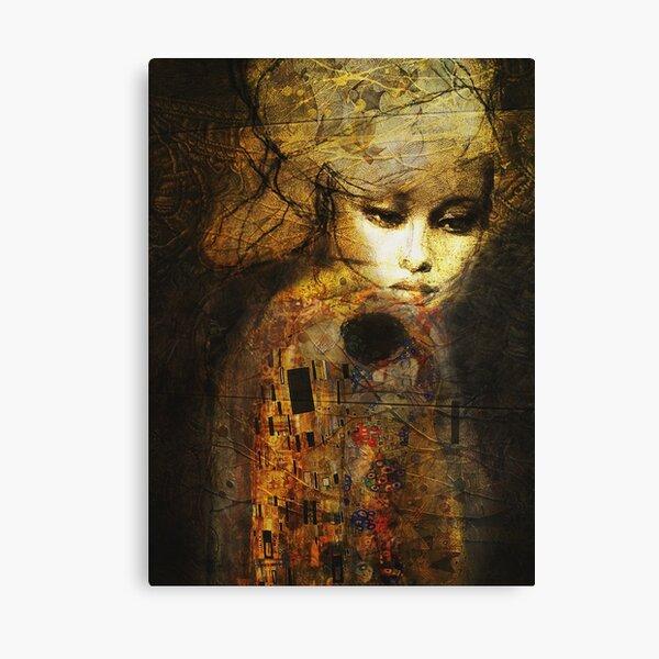 Klimt Gold Canvas Print