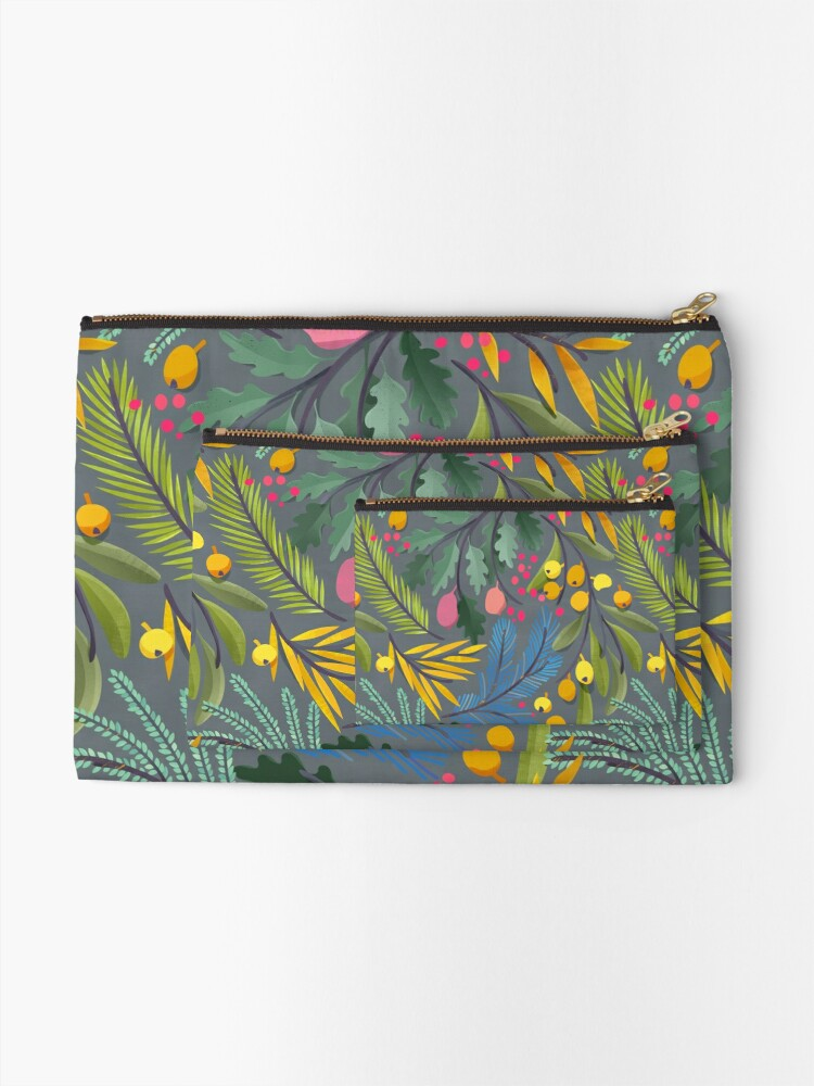 Alternate view of Fairy's garden Zipper Pouch