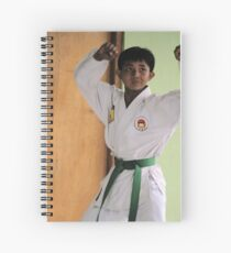Karate Kid Spiral Notebook