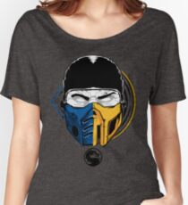 Scorpion and Subzero Women's Relaxed Fit T-Shirt