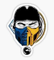 Scorpion and Subzero Sticker