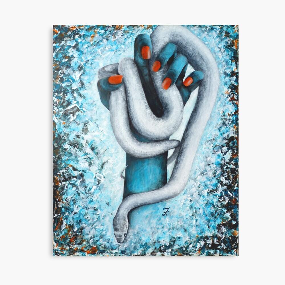 Impression sur toile «Au-delà de la déchéance»