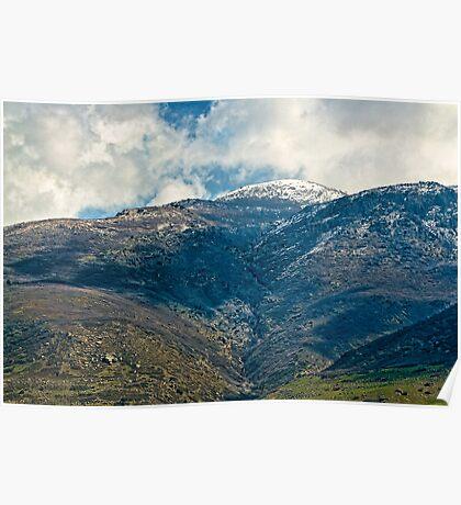 Glorious Mountains - Utah Poster