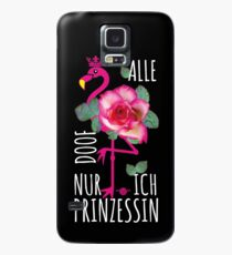 8 Flamingo saying All silly just me princess Case/Skin for Samsung Galaxy