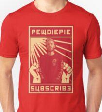 Camiseta unisex Suscribirse a Pewdiepie