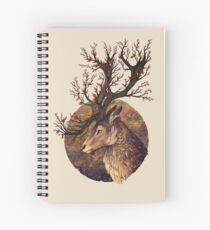 Autumn Embers Spiral Notebook