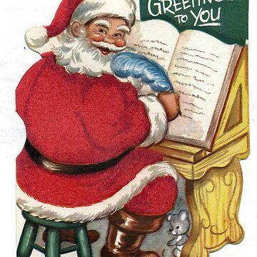Santa Claus writing by Geekimpact