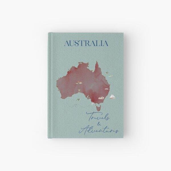 Australia Travel & Adventure Hardcover Journal