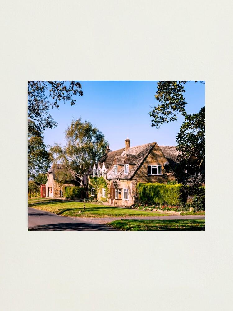 Alternate view of Autumn village. (v2) Photographic Print