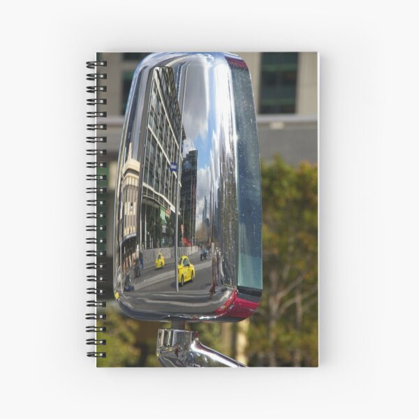 Honey, I Shrunk The Kids (And The Cars, And The Skyline) Spiral Notebook