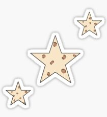 Cheetah Print Stars Sticker