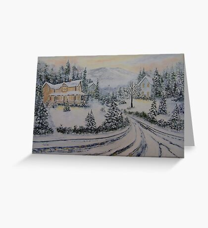 Comfort of Home Greeting Card