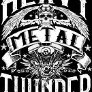 Heavy Metal Thunder - dark background by clad63