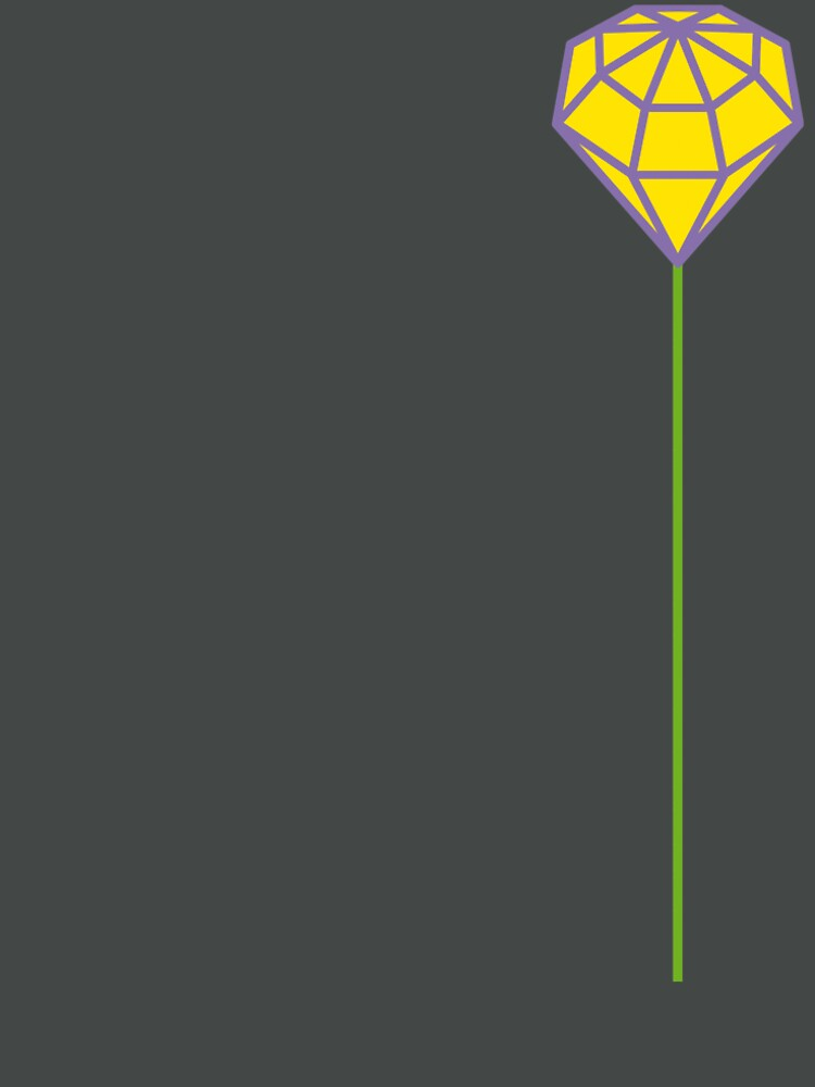 Buttonhole (purple and yellow) by tierneyart
