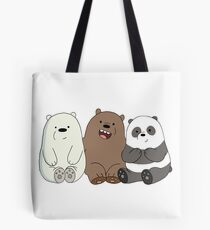 We Bare Bears Tote Bag