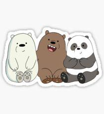 Wir nackten Bären Sticker