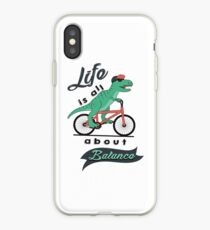 Life Is All About Balanace iPhone Case