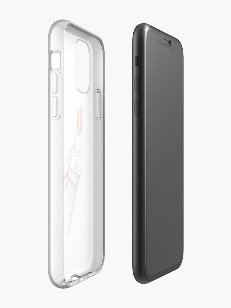 coque mont blanc - Coque iPhone «GLACE GUCCI MANE 1017», par WeFlaya