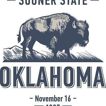 Oklahoma Buffalo Sooner State by mburleson