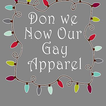 Top Best Gay Apparel Christmas Design by LGamble12345