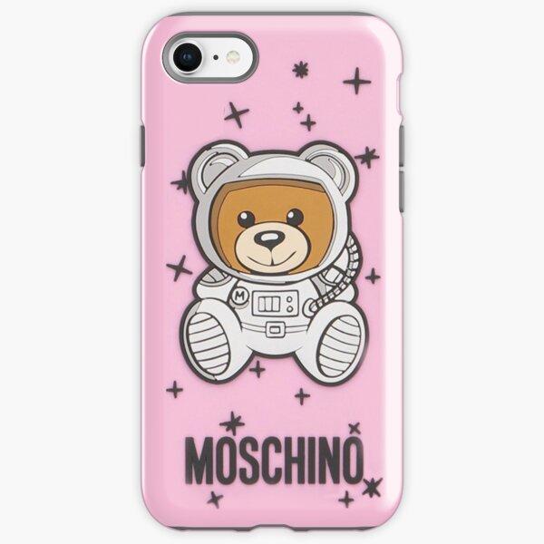 pink moschino iPhone Tough Case