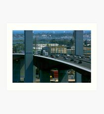 Bolte Bridge Art Print