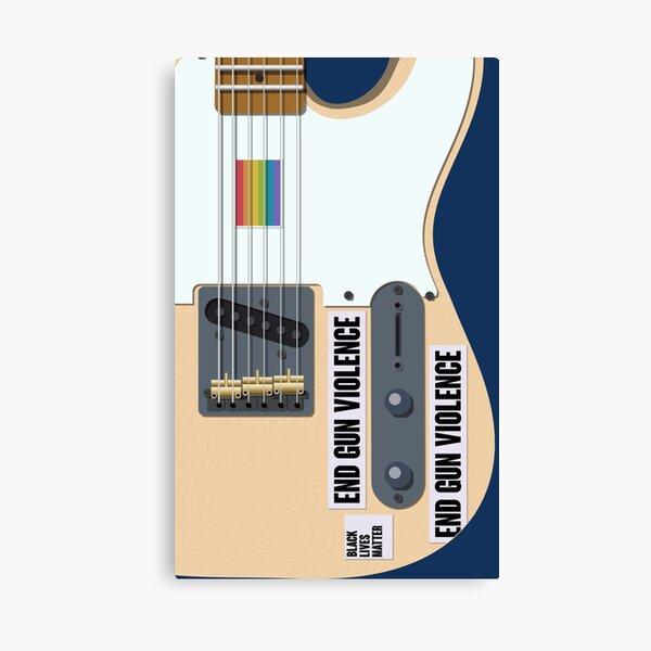 Harry estilos de guitarra Lienzo