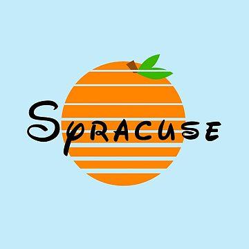 Syracuse and Oranges (black) by Randy8560