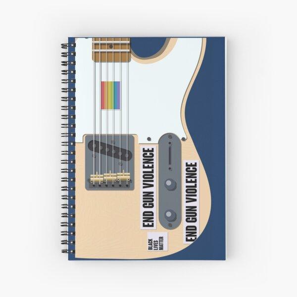 Harry styles guitar Spiral Notebook