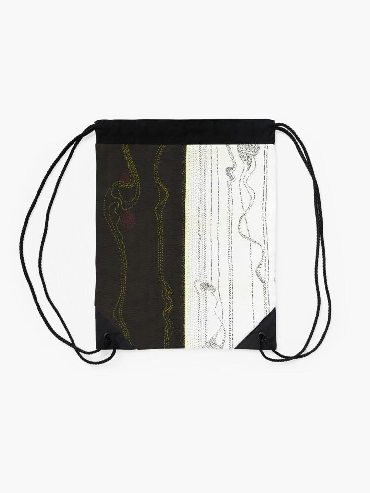 Alternate view of Evolutions - Beginnings Drawstring Bag