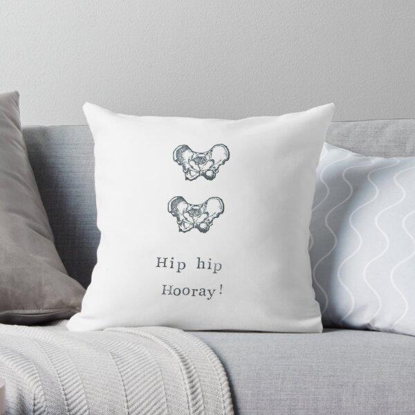 Hip Hip Hooray! Throw Pillow