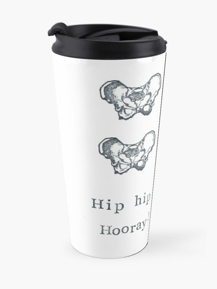 Alternate view of Hip Hip Hooray! Travel Mug