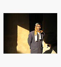Man of India Photographic Print