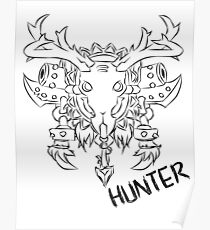 Hunter Crest Poster
