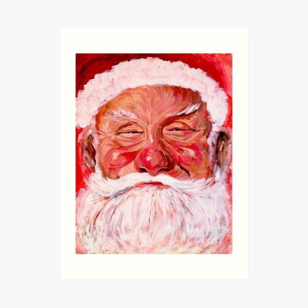 Santa Claus Art Print