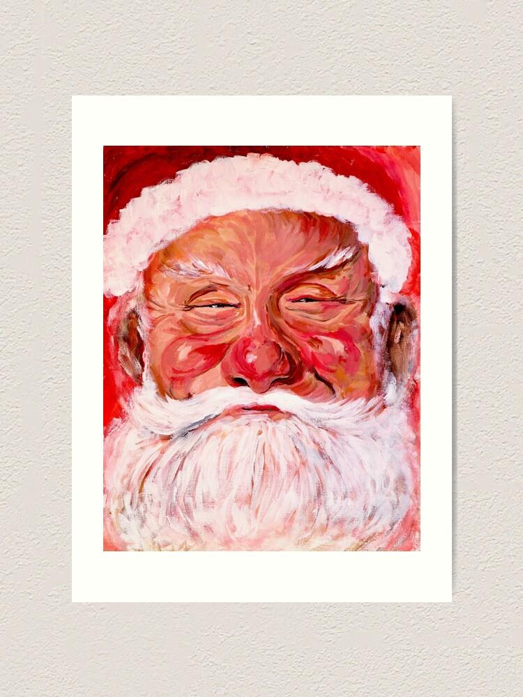 Alternate view of Santa Claus Art Print