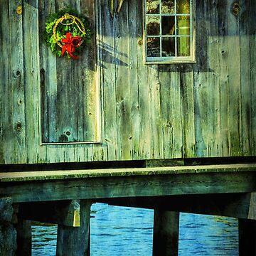 Dockside Christmas by JoeGeraci