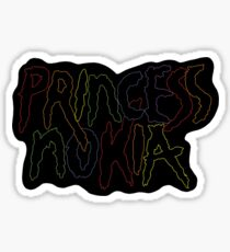 Princess Nokia Logo Sticker