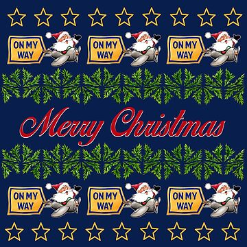 UGLY CHRISTMAS SWEATER STYLE PRINT - #1 by Colette-vd-Wal