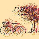 Autumn Leaves Trees #2 by Van Nhan Ngo