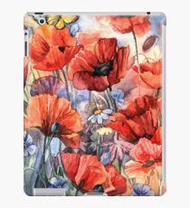 Poppies iPad-Hülle & Klebefolie