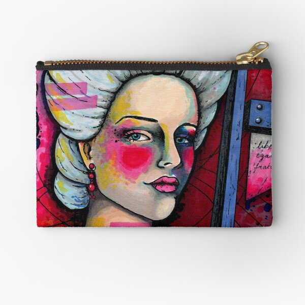 Olympe de Gouges Zipper Pouch