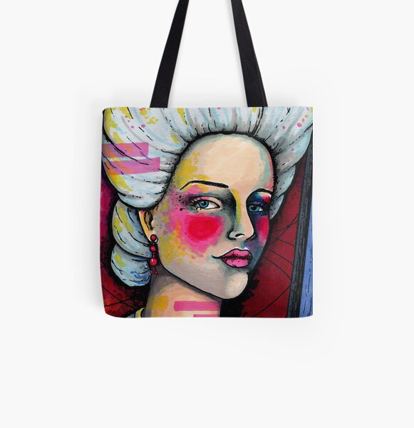 Olympe de Gouges All Over Print Tote Bag
