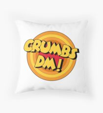 Crumbs DM Penfold Catchphrase Throw Pillow