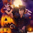 Halloween with Ada & Faust by ReplayComic
