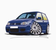 VW Golf (Mk4) R32 Blue