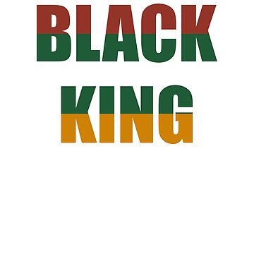 Black King Black History Month Black Pride Gift by BlueBerry-Pengu