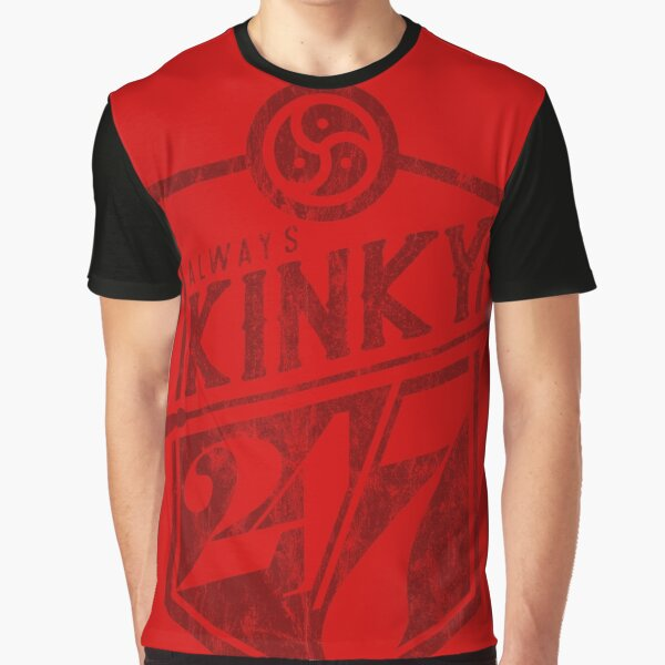 Always Kinky 24/7 - Red Graphic T-Shirt
