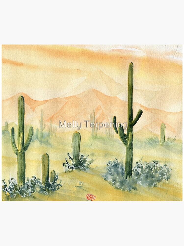 Desert Morning by MellyTerp