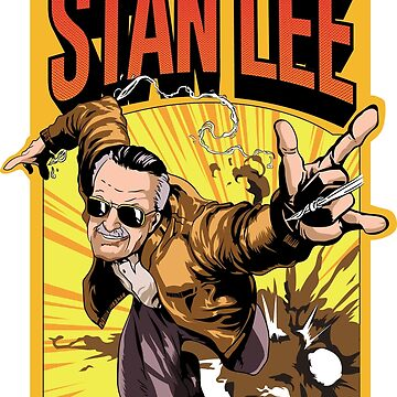 Stan Lee - The man The Myth The Legend T-shirt by rosadinardo4